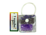 Hair accessories in plastic pouch, set of 2