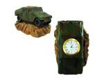 humvee army desk clock
