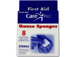 First Aid Gauze Sponges