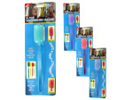toothbrush with suction cup holder assorted colors