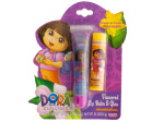 Dora the Explorer Flavored Lip Balm and Gloss Set