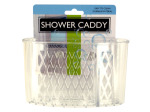 Transparent Shower Caddy with Suction Cups