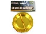 Sandbag ashtray