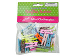 Miniature craft clothespins