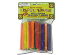 Multi-colored mini craft sticks
