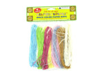 9 Pack multi-colored paper rope