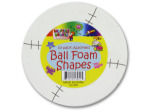 Sports ball foam shapes