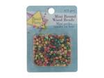 mini round wood beads 675 piece