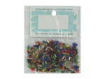 multi color bugle beads
