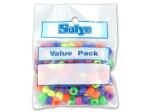 assorted pony beads