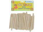 Miniature wood craft sticks