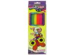 Bright colored cool wax sticks
