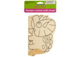 Wooden Animal Craft Shape