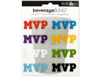 MVP Beverage Bling Stickers