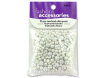 30 gms simulated white pearls