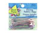 Pastel colored safety pins