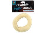 Rawhide donut chew