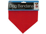 Polka Dot Dog Bandana with Snap Closure