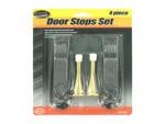 4 Pack door stop set