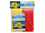 Emergency Rain Ponchos