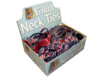 Childrens print and solid ties