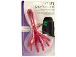 Flexible Plastic Head Massager