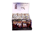 animal print folding reader assorted colors and power