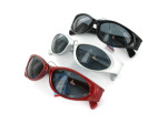 Assorted sports sunglasses