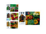 12 piece table mat assorted designs