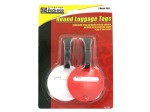 2 Pack round luggage tags
