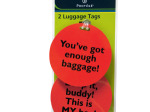 Assorted Fun Phrase Luggage Tags