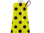 Yellow Polka Dot Reusable Water Bottle