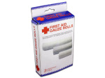 First Aid gauze rolls (assorted sizes)