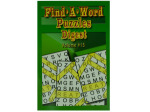 Big print find a word puzzle