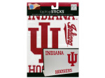 Indiana Hoosiers Removable Laptop Stickers