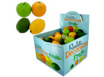 Realistic Decorative Fruit Counter Top Display