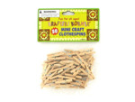 50 Pack miniature crafting wood clothespins
