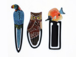 Assorted animal wooden bookmarks