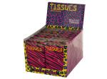 Zebra Print Tissues Countertop Display