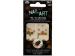 Gold Nail Art Nail Decorations