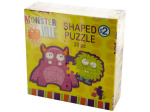 Monsterville Shaped Puzzle