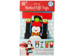 Christmas Pop-Up Seated Gift Tags