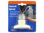 Faucet spray