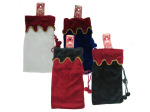 Felt bottle bag, assorted colors.