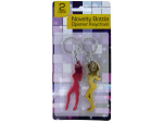 Lady Shaped Bottle Opener Keychain Set