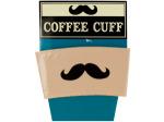 Mustache Coffee Cuff