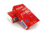 Six portable tissue packs