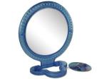 Round standing mirror