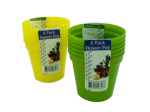 Plastic Flower Pots Set