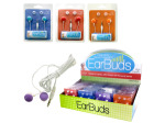 Colorful Ear Buds Countertop Display